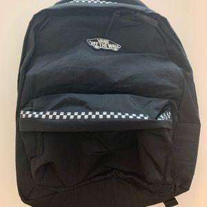 Vans checkered backpack